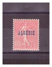 ALGERIE.  N° 25 a   .65  c  PAPIER   NID D 'ABEILLE    NEUF *    .SUPERBE .