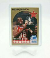 NBA HOOPS Earvin Magic Johnson All Star Weekend Miami #18 1990-91 Great Cond!