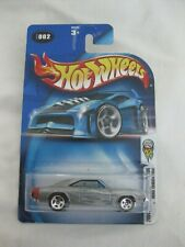 Hot Wheels 2004 First Editions Zamac 1969 Dodge Charger Mint In Card