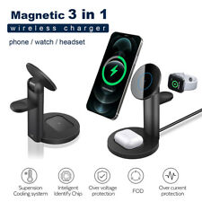 3In1 Wireless Charger Dock Stand For AirPods Pro/2 iWatch iPhone 12 Pro Max MINI