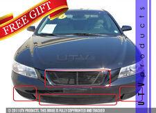 GTG Gloss Black 4PC Replacement Billet Grille fits 2006 - 2008 Hyundai Sonata