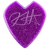 Dunlop Kirk Hammett Puple Sparkle Jazz Electric Guitar Picks 6-Pack 1.38mm