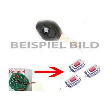 Für Bmw E39 E46 E53 X3 X5 Z4 Fernbedienung Funkschlüssel 3x Mikroschalter Taster