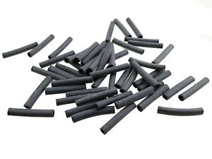 50 Tüllen 2,5x25 Gummitülle Kabel Stecker Isoliertülle Flachstecker Rundstecker