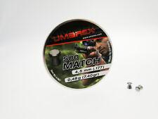 500 Pallini  piombini libera vendita Umarex Match  Calibro 4,5 mm Testa Piatta