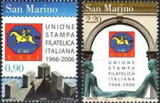 2006 San Marino 40° anniversario USFI MNH