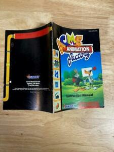 Acme Animation Factory Super Nintendo SNES Manual Instruction Booklet Only!