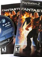 PS2 Fantastic 4 (Sony PlayStation 2, 2005) Complete W Manual