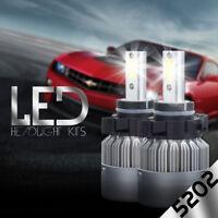 CREE H16 5202 9009 LED 38800LM COB Headlight Fog Light LED Kit Bulb White 6000K