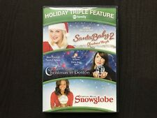 Santa Baby 2: Christmas Maybe/Christmas in Boston/Snowglobe (2 DVD, 2011,)