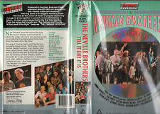 THE NEVILLE BROTHERS-Tell It Like It Is-VHS-PAL-NEW & SEALED-Original Oz release