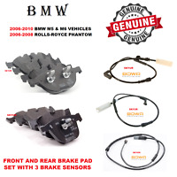 BMW Genuine Rear Brake Pads Repair Kit 34212284296