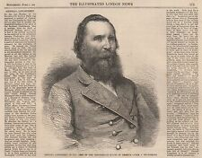 1864 GENERAL LONGSTREET OF THE ARMY OF THE CONFEDERATE STATES OF AMERICA