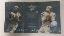 2000 Upper Deck Legends Football Hobby Box Factory Sealed 24 Pack