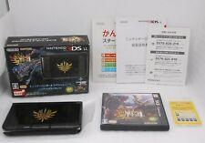 [Buen En Caja ] Nintendo 3DS Ll Monster Hunter 4 Especial Pack Gore Magala Negro