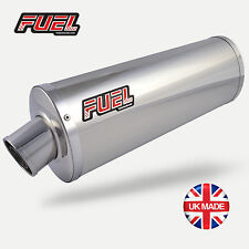 KTM RC125 14-16 High Level Classic Polished S/S Oval Mini UK Road Legal Exhaust