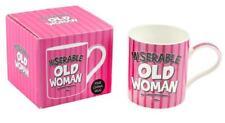 Miserable Old Woman Mug Birthday Anniversary Christmas Gift Cup Wife Girlfriend