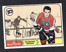 Joe Watson #90 signed autograph auto 1968 Topps Hockey Trading Card