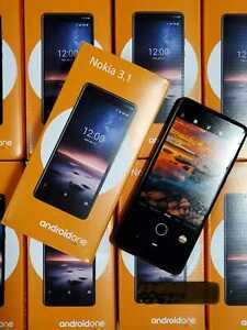 Nokia 3.1 A - 32GB -Black complete, any GSM carrier unlocked new