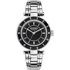 Orologio Versus Watch Woman Uhr Donna Acciaio Logo SP8190015 Nero Black Nuovo