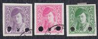 Kingdom SHS Bosnia 1919 Newspaper stamps with overprint, used (o)