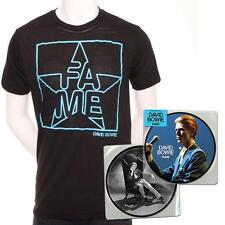 DAVID BOWIE Limited Edition FAME Exclusive ONLY 200 T-Shirt XL + Picture Disc