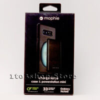 Mophie Charge Force Samsung Galaxy Note 8 Case w/Powerstation Battery Pack Black