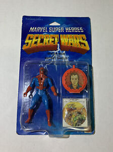 Marvel Secret Wars Red Spider-Man action figure Mattel 1984