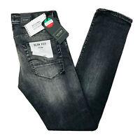 JACK & JONES Homme 'S Glenn Slim Fit Taille Basse Gris Jean Taille W29 L32