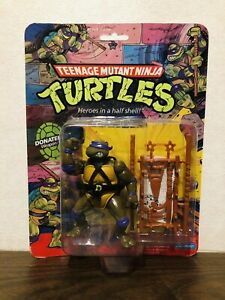 Rare Vintage Original 1988 TMNT Donatello Fan Club Flyer! MOC! Sealed! 10 Back!