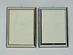 2 Bilderrahmen Silber 925 Sterling 15 cm x 11 cm