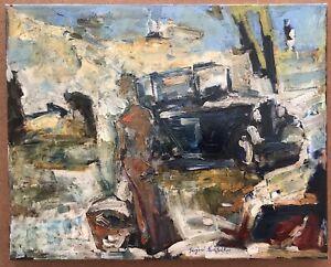 Original Impressionism Oil Painting Canvas  Serguei Novitchkov Certificate 16x20