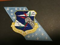 USAF STRATEGIC AIR COMMAND W/ BANNER PATCH MEASURES 8 X 3 5/8 INCHES