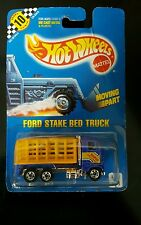 Hot Wheels 1561 Blue Ford Stake Bed Truck #99. New in Package