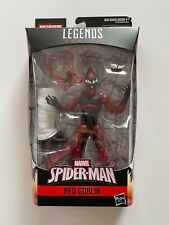Marvel Legends Series Spider-Man RED GOBLIN Kingpin BAF Hasbro 2018