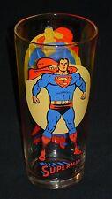 Superman Moon Glass Pepsi DC Comics Super Series Vintage Bright Colors