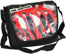 ONE Direction 1d Deluxe Scuola COLLEGE Spalla Spedizione Borsa a tracolla Messenger Bag