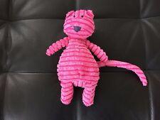 "JellyCat Small 10 "" Pink Cordy Roy Cat / Kitten Hug Comforter Soft Toy"