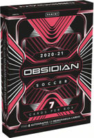 2020-21 Panini Obsidian Soccer Hobby Box Factory Sealed