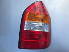 VAUXHALL ZAFIRA DRIVER'S REAR LIGHT UNIT 1998 TO 2004 MODEL GENUINE PART