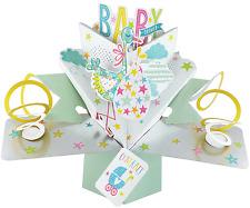 Second Nature Keepsake 3d Pop up Card Flower for You Baby Shower