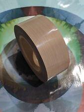 """Airtech Fiberglass PTFE Tape 2"""" x 36 yds 7 mil Teflon High Heat Temperature"""