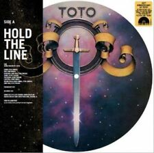 """TOTO Hold The Line 10"""" Picture Disc"""