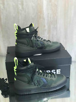 Sneakers Men's Converse Fastbreak Utility Green Leather Canvas High Top162561c