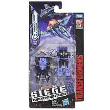 Transformers War For Cybertron Siege Micromasters Storm Cloud & Visper – SEALED