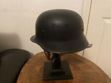 More details for german post-war fire brigade helmet.
