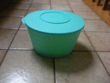 Tupperware Spin N Save Salad Spinner Strainer-Complete