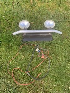LIGHT BAR WITH BOSCH DRIVING LIGHTS AND WIRING
