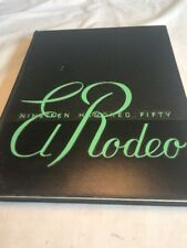 California State Polytechnic College 1950 El Rodeo San Luis Obispo Yearbook