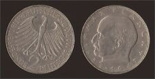 GERMANIA GERMANY 2 MARK 1958 J MAX PLANCK